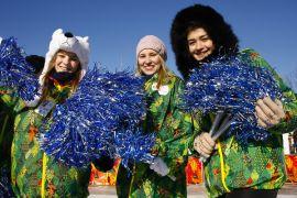 Подробнее: Волонтеры эстафеты олимпийского огня в Майкопе